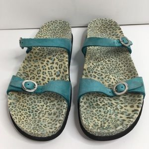 Mephisto Air Relax Comfort Sandals Size 38 -US 8.